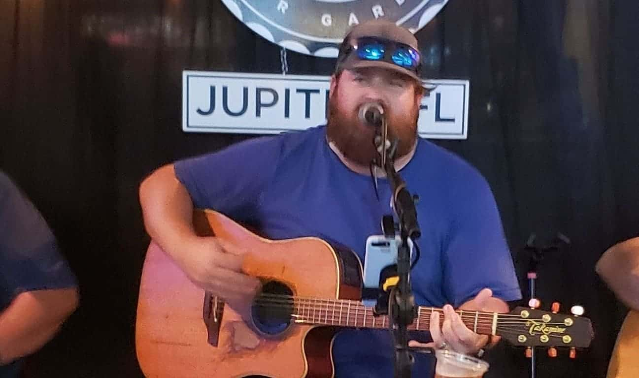 Andrew Morris at the Square Grouper Ft. Pierce