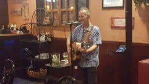 David Goodman at Harbor Cove Bar and Grill