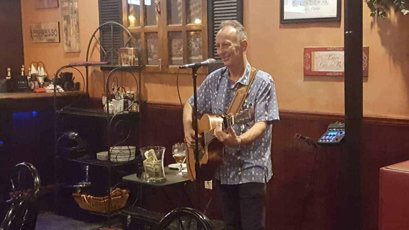 David Goodman at Harbor Cove Bar and Grill