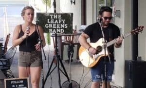The Leafy Greens Band at Little Jim's Bait & Tackle