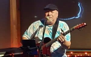 Roger Karr at the Thirsty Turtle Fort Pierce