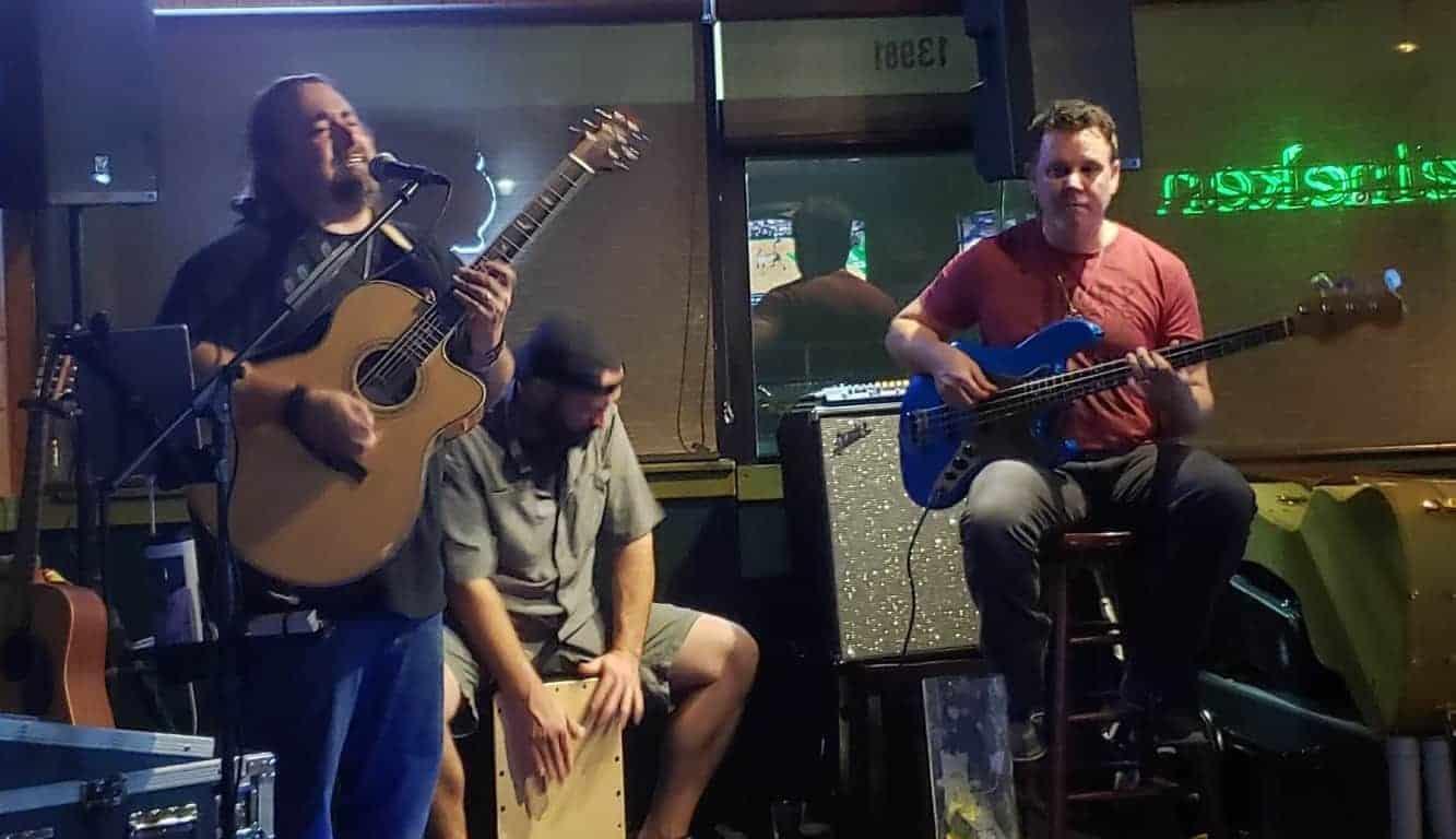 The Happiness Club Band at Manatee Island Bar & Grill - Stuart