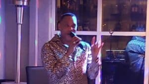 """Larry Johnson's """"Essense of Motown"""" at Red Crab Seafood"""