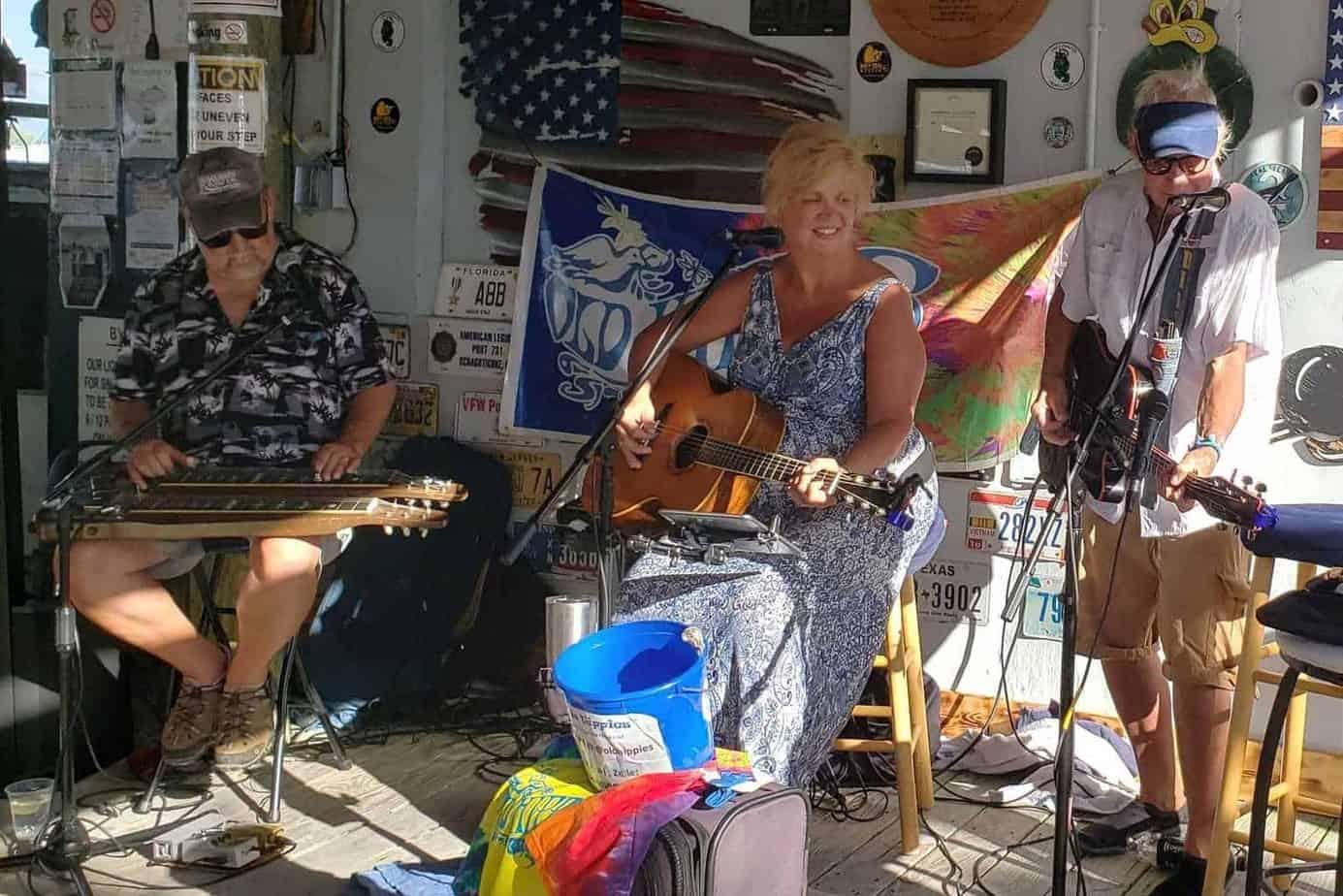 Old Hippies at The Saints Pub