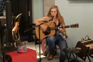 Abby Owens at Little Jim's Bait & Tackle
