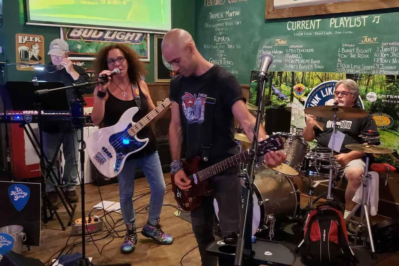 On Monday Band at Treasure Coast Harley Davidson