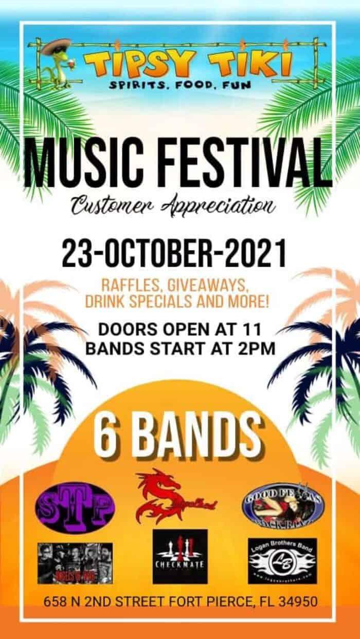 Tipsy Tiki Music Festival!